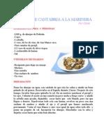 Almejas de Cantabria a La