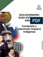 Solucionario Guia Práctica Conquista y Relaciones Hispano Indígenas 2013
