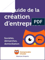 Guide de La Creation d Entreprise
