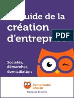 Guide de La Creation d Entreprise