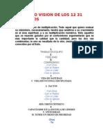 Proyecto Vision de Los 12 31 Principios