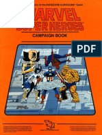 Marvel Superheroes Classic - Basic Set - Campaign Book