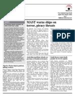 Maritime News 28 Oct 14