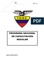 Programa Nacional de Capacitacin Regular Final