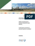 Ghiduri Sectoriale Pentru Evaluarea Impactului Asupra Mediului Lucrari Pentru Prevenirea Si Protectia Impotriva Inundatiilor