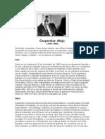 Carpentier, Alejo - Biografía
