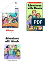a-z book abuela  ask and answer questions