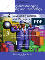 Leading and Managing Engineering and Technology Book 2