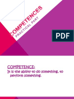 12 competencies activity