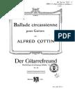COTTIN BALLADE GUITAR