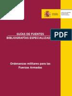 Ordenanzas Fuerzas Armadas Gfb