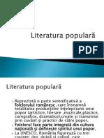 Literatura populara
