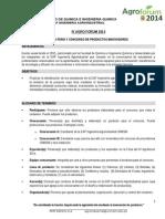 Bases de Concurso Agroforum 2014 (Final @ 07 Nov)