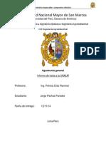 Informe de Agrotecnia