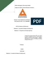 ATPS - Sistemas de Informação 4 semestre