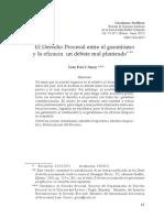 El Derecho Procesal Entre El Garantismo-Picó i Junoy