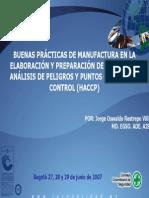 BPM Y HACCP