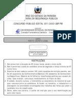 Prova Perito Odonto Legal Pb 2003