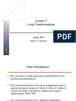 7-LoopOptimizations