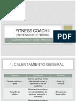 """Fitness Coach """"Entrenador de Fútbol"""" (Calentamiento 1)"""