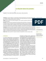 BFactores asociados con la situación laboral de pacientes con esclerosis múltiple