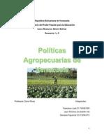 Trabajo de Biologia Sobre Politicas Agropecuarias Listoooo