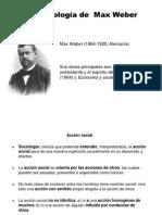 Clase Sobre Max Weber I