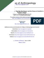 critique of anthropology-2009-sluka-279-99