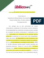 Navarro, Vincen - Las teorias geneticistas