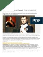 Napoleão III Não Era Sobrinho de Napoleão Bonaparte