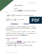Ecuaciones Integradas de Velocidad