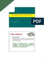 Money Supply Demand