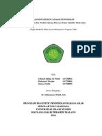 Kel. 1 - Planning (Perencanaan) Pendidikan - Arifin, Rifqi, Hasyim (Fix)