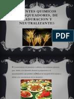 Agentes Quimicos Blanqueadores, De Maduracion y Neutralizantes Joseph Luque Romero