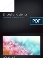 5. Idealismo