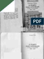 o Tempo Das Catedrais a Arte e a Sociedade 980 a 1420 Georges Duby