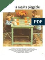 Practica Mesita Plegable