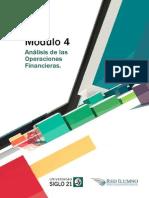 Módulo 4 - Análisis de Las Operaciones Financieras