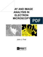 X Ray and image analysis in electron microscopy