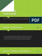 LIS 6010 - Creative Community Partnerships