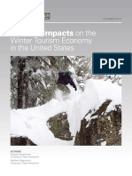 Climate Impacts Winter Tourism Report