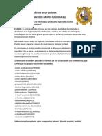 Reconocimiento de grupos funcionales-UNMSM