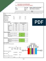 Attachment 1-Heat Transfer Calculation Sheet
