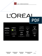 Caso L´oreal – A Global Cosmetic Brand