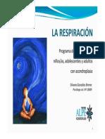 TECNICAS DE RESPIRACION Y RELAJACION