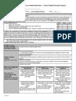 unit plan lesson 3 form