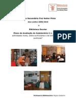 4.º Trabalho - O Modelo de Auto-Avaliação das Bibliotecas Escolares - metodologias de operacionalização _Parte I