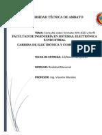 Formato IEEE-APA y Perfiles Profesional y Ocupacional