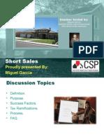 Short Sale Seminar Bakersfield, CA