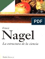 Nagel Ernest - La Estructura de La Ciencia